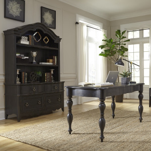 Chesapeake 3 Piece Desk & Hutch Set
