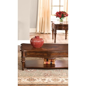 Andalusia 3 Piece Set (1-Cocktail 2-End Tables)
