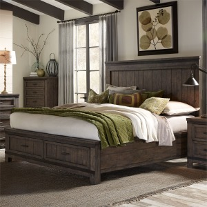 Thornwood Hills King Storage Bed