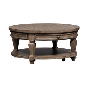 Harvest Home Round Cocktail Table