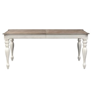 Magnolia Manor Rectangular Leg Table