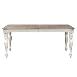 Magnolia Manner Rectangular Leg Table