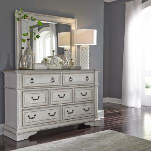 Abbey Park Dresser & Mirror