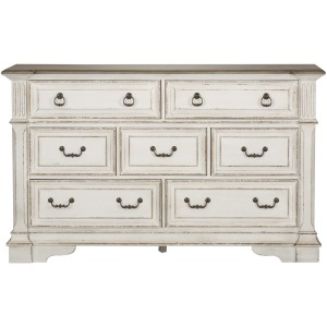 Abbey Park 7 Drawer Dresser