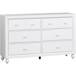 Cottage View 6 Drawer Dresser