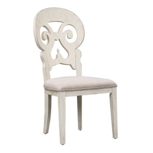 Farmhouse Reimagined Splat Back Side Chair