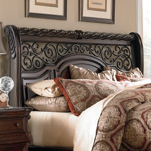 Arbor Place King Sleigh Headboard