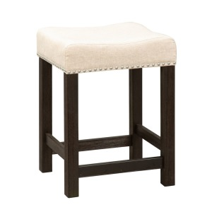 Heatherbrook Upholstered Console Stool