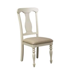 Ocean Isle Uph Splat Back Side Chair (RTA)