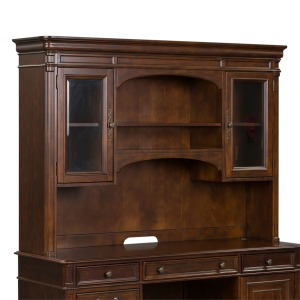 Brayton Manor Jr Executive Credenza Hutch