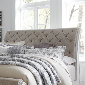 Magnolia Manor Queen Upholstered Sleigh Headboard