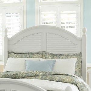 Summer House I Queen Poster Headboard