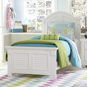 Summer House Twin Panel Bed