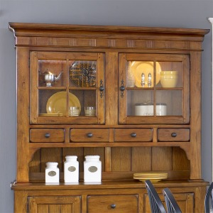 Treasures Hutch - Oak