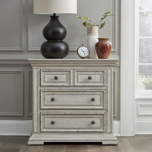 Big Valley Bedside Chest with Charging Station