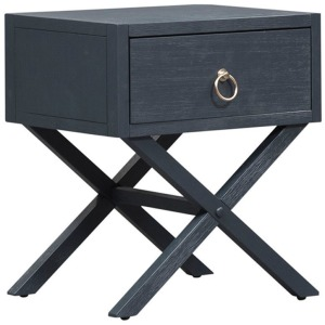 Midnight 1 Drawer Accent Table