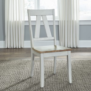 Lindsey Farm Splat Back Side Chair (RTA)