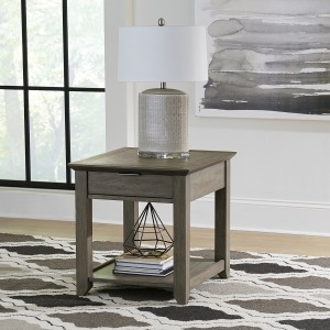 Rawson 1 Drawer End Table