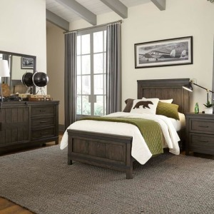 AVLIB 759 TWIN STORAGE BED and NS