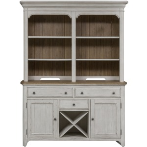 Farmhouse Reimagined Hutch & Buffet