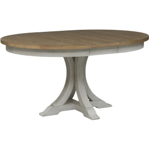 Farmhouse Reimagined Pedestal Table