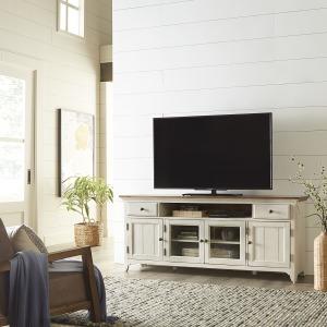 Farmhouse Reimagined Entertainment TV Stand