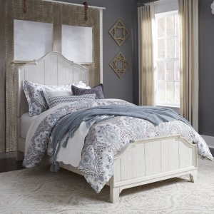 Farmhouse Reimagined Full Panel Bed