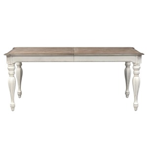 Magnolia Manor Rectangular Leg Table