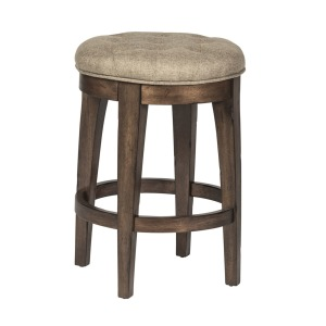 Arlington House Upholstered Backless Barstool (RTA)