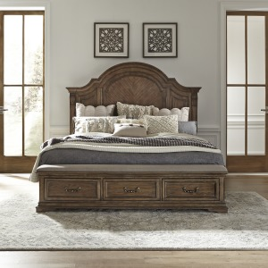 Haven Hall King Storage Bed
