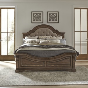 Opt Queen Panel Bed