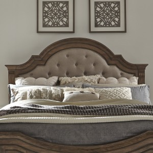 Haven Hall Queen Uph Panel Headboard