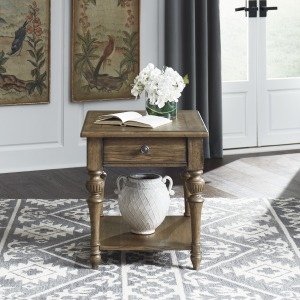 Haven Hall Drawer End Table
