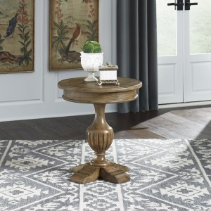 Haven Hall Round End Table