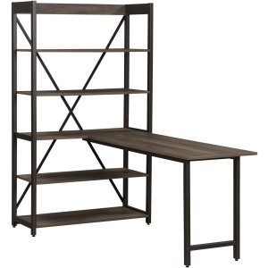 Tanners Creek Desk and Bookcase Set