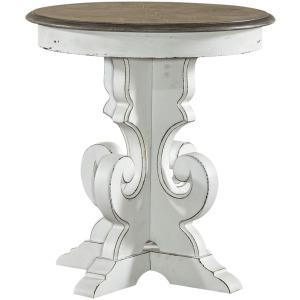 Magnolia Manor Round End Table