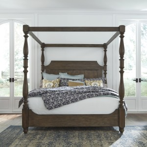 Homestead Queen Canopy Bed