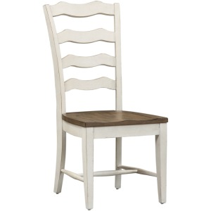 Magnolia Mannor Ladder Back Side Chair (RTA)