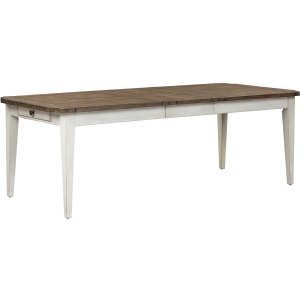 Parisian Marketplace Rectangular Leg Table