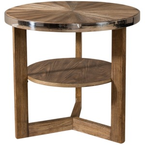 Omega Round End Table