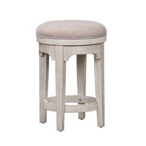 Farmhouse Reimagined Console Swivel Stool