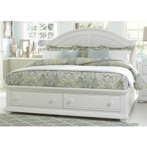 Summer House I Queen Storage Bed