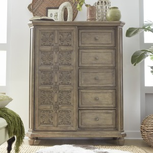 The Laurels Sliding Door Chest