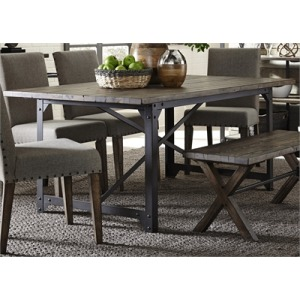 Caldwell Trestle Table