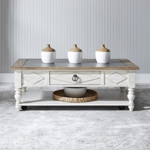 Willow Cottage Rectangular Cocktail Table