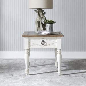 Willow Cottage 1 Drawer End Table