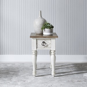 Willow Cottage Chair Side Table