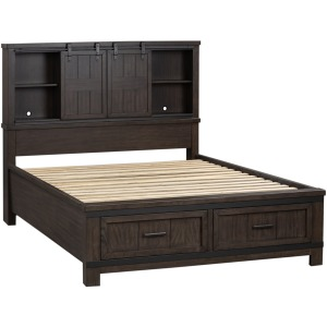 Thornwood Hills King Bookcase Bed