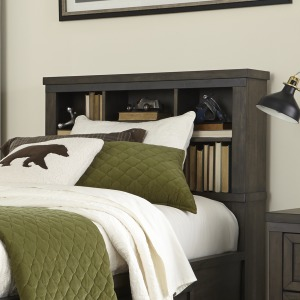 Thornwood Hills Twin Bookcase Headboard