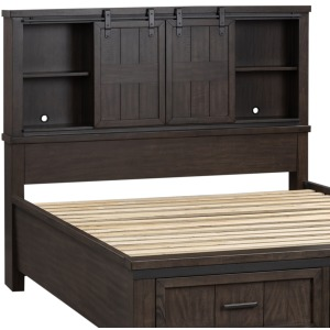 Thornwood Hills Queen Bookcase Headboard